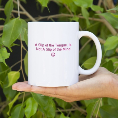 slip of the tongue mug